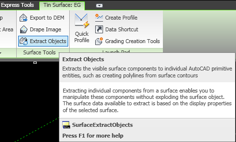 Being Civil: Extracting Contour from Surface (Feature Line