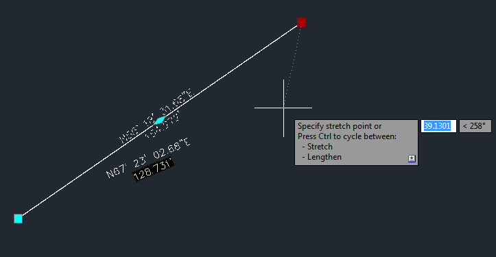 Drawing Lines In Autocad Using Coordinates : Being civil autocad d new feature label between two